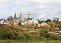 Orthodox monastery in Ryazan region Royalty Free Stock Photos