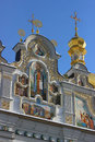 Orthodox monastery in winter kiev Royalty Free Stock Photography