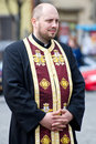 Orthodox priest Royalty Free Stock Images
