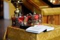 Orthodox wedding accessories Royalty Free Stock Photo