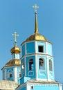 Orthodoxe smolensky kathedrale belgorod stadt russland Stockfoto