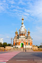 Orthodoxy Church  in Uralsk, Kazakhstan Royalty Free Stock Photos