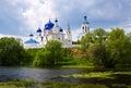 Orthodoxy monastery at Bogolyubovo in summer Royalty Free Stock Photo