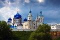 Orthodoxy monastery at Bogolyubovo Royalty Free Stock Photo