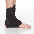 Orthopedic ankle brace Royalty Free Stock Photo