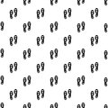 Orthopedic insoles pattern vector