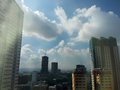 Ortigas Skyline Royalty Free Stock Photo