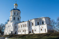 Ortodox christian ancient cathedral in ukraine Royalty Free Stock Photo