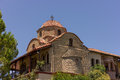 Ortodox church holy greece monastery Stock Photos