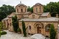 Ortodox church holy greece monastery deonisiy Stock Photo