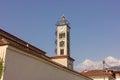 Ortodox church in leptokaria greece town Stock Photos
