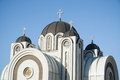 Ortodox church serbian in belgrade Stock Photo