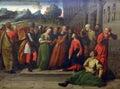 Ortolano Giovanni Battista Benvenuto?: Adulteress before Christ