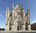 Orvieto Cathedral, Umbria, Italy Royalty Free Stock Photo