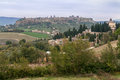 Orvieto terni italy historical city on top of a hill trevi Stock Photography