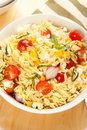 Orzo Pasta Salad Royalty Free Stock Photos