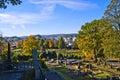 Os cemetery Stock Photo