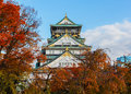 Osaka castle in japan one of s most famous and played a major role the unification of during the th century Royalty Free Stock Images
