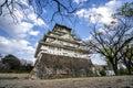 Osaka castle in Japan Royalty Free Stock Photo