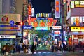 Osaka nightlife the famed advertisements of dotonbori on november in japan with a history reaching back to the districtis now one Stock Photography