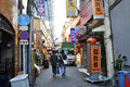 Osaka oct dotonbori on october in osaka japan with a history reaching back to the districtis now one of s primary tourist Stock Photo