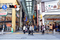 Osaka oct dotonbori on october in osaka japan with a history reaching back to the districtis now one of s primary tourist Stock Photography