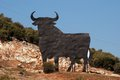 Osborne bull, Andalusia, Spain. Stock Image