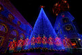 The Osborne Family Spectacle of Dancing Lights Stock Photo