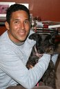Oscar nunez at the party to celebrate the th episode of dog whisperer boulevard hollywood ca Royalty Free Stock Photos