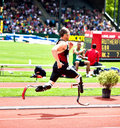 Oscar Pistorius Royalty Free Stock Photos