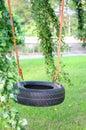 Oscilación del neumático Foto de archivo