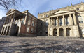 Osgoode Hall, historic building in downtown Toronto in Canada Royalty Free Stock Photo