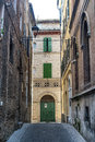 Osimo (Ancona) - Old street Royalty Free Stock Photography