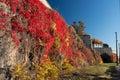 Oslo Akershus Fortress at late fall Royalty Free Stock Photo
