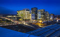 Oslo City Skyline, Norway. Royalty Free Stock Photo