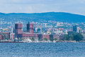 Oslo islands in the fjord Royalty Free Stock Images