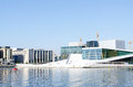 Oslo opera house norway may view on a side of the national on may in norway which was opened on april Stock Photo