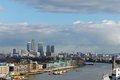 Ost london Stockbild