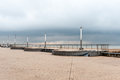 Ostend dike Royalty Free Stock Photo