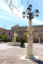 Osuna square spring time in the main town plaza mayor in andalucia spain Stock Photography
