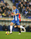 Osvaldo of Espanyol Royalty Free Stock Image