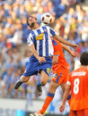 Osvaldo of Espanyol Royalty Free Stock Photo
