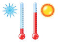 нot and cold thermometers