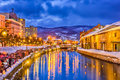 Otaru, Japan Winter Illumination Royalty Free Stock Photo