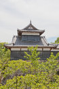 Otemukaiyagura Turret of Yamato Koriyama castle, Japan Royalty Free Stock Photo