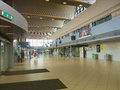 Otopeni international airport bucharest romania the arrival area of Stock Photo