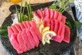 Otoro tuna sashimi Royalty Free Stock Photo