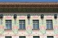 Otto wagner architecture art nouveau vienna Fotografia Stock