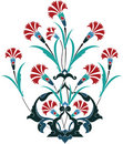 Ottoman design Stock Images