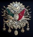 Ottoman empire emblem old turkish symbol Royalty Free Stock Images